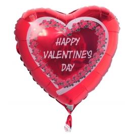 Happy Valentines Day Luftballon zum Valentinstag