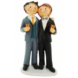 Hochzeitspaar, homosexuell, Maenner, Figur