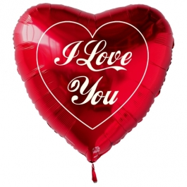 I Love You Herz Groß