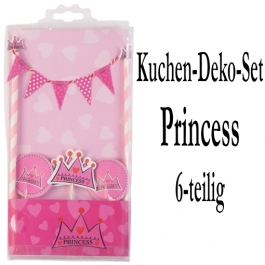 Torten Dekorations Set  Princess, Kuchendekoration