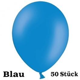 Großer 40x36 cm Luftballon in Blau