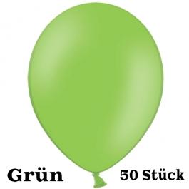 Großer 40x36 cm Luftballon in Grün