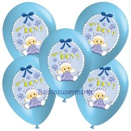 5 Stück Luftballons It's a Boy Baby