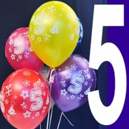 luftballons-zahl-5-latexballons-27,5-cm-6-stueck