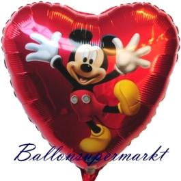 Micky Maus Dancing Folienluftballon, ungefüllt