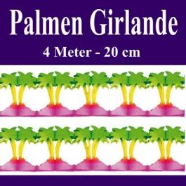 Palmen Girlande