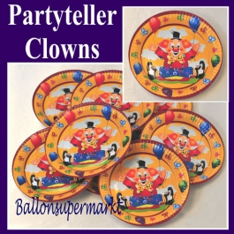 Partyteller Clowns