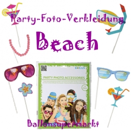 Party-Foto-Verkleidung PBeach