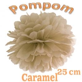 Pompom Caramel, 25 cm