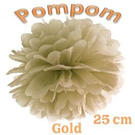 Pompom Gold, 25 cm