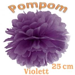 Pompom Violett, 25 cm