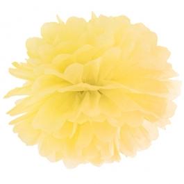 Pompom Gelb, Deko Hochzeit