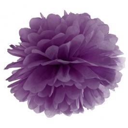Pompom Violett, Deko Hochzeit