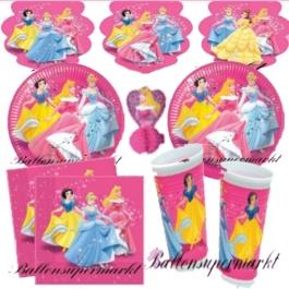 Princess Party Set Kindergeburtstag