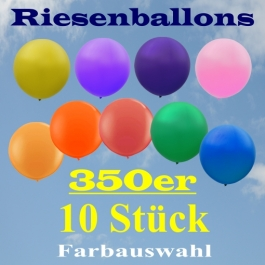 Riesenballons 350er, 10 Stück