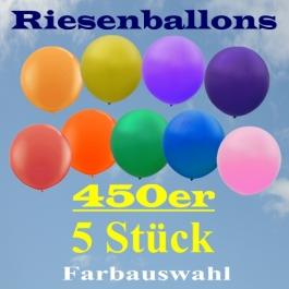 Riesenballons 450er, 5 Stück