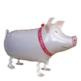 Schwein Airwalker Luftballon