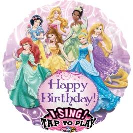 Singender Luftballon, Disney Princess zum Geburtstag