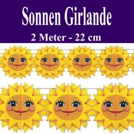 Sonnen Girlande
