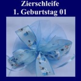 Zierschleife, 1. Geburtstag 01