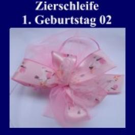 Zierschleife, 1. Geburtstag 02