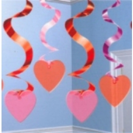 Streamin' Swirls Love Decoration