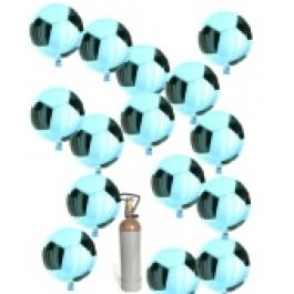 Fußball Folienballon-Midi-Set 1