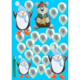 Pinguin & Polar Bär (Mini)