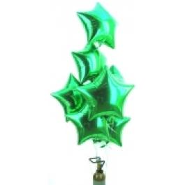 """Weihnachtsdekoration, Weihnachtsballons Sterne, Weihnachts-Maxi Set """"100"""""""