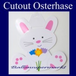 Cutout Osterhase, Osterdekoration