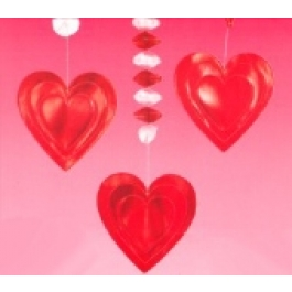 "Dangling Cutouts ""Hearts"""