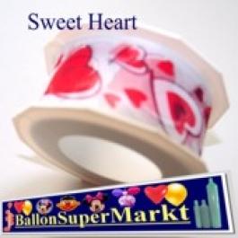 Deko-Zierband Sweet Heart, 1 Meter