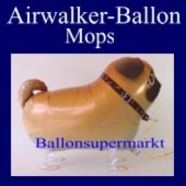 Airwalker Luftballon Mops