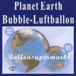 Planet Earth, Bubble Luftballon (mit Helium)