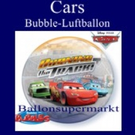 Cars, Bubble Luftballon (mit Helium)