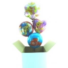 Mini-Karton: Auswahl 45cm Folienballons
