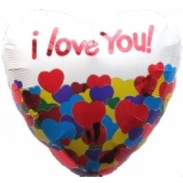 I Love You Heart III (ungefüllt)