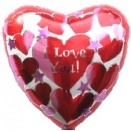 I Love You Heart V (ungefüllt)
