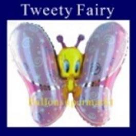 Luftballon Tweety Fairy, Folienballon ohne Ballongas