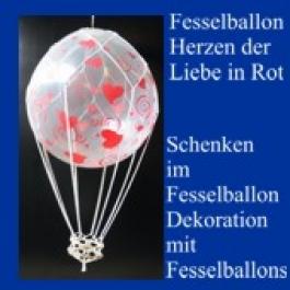 Fesselballon-Herzen-der-Liebe-Rot