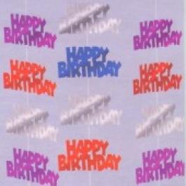 Geburtstag String Deko Happy Birthday