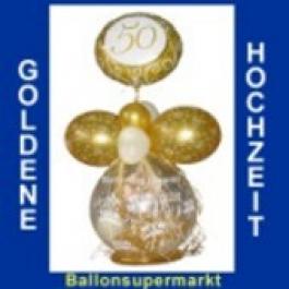 Geschenkballon Goldene Hochzeit