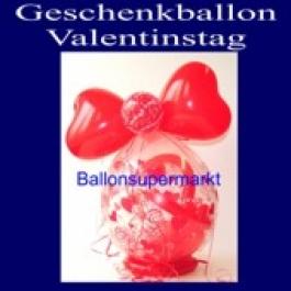 Geschenkballon Valentinstag