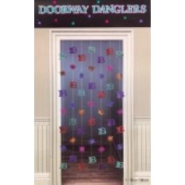 Doorway Dangler 18, Deko zum 18. Geburtstag