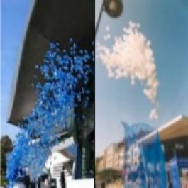 Ballonflugset mit 10.000 Luftballons