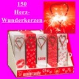 Wunderkerzen Herz, 150 Stück