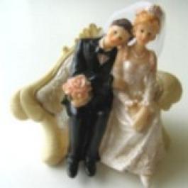 Hochzeitspaar, Hochzeitsdeko, Tischdeko-Hochzeit 01