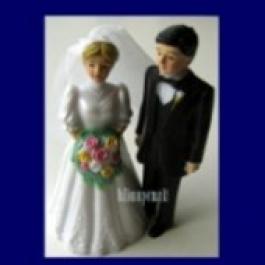 Hochzeitspaar, Hochzeitsdeko, Tischdeko-Hochzeit 02