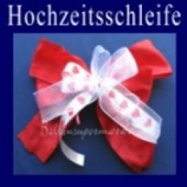 Hochzeitsschleife, Hochzeitsdeko-Zierschleife 01