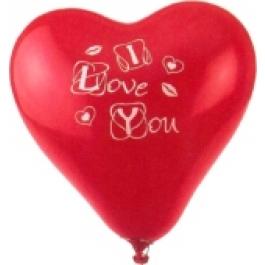 "Luftballons ""I love You"" Herz"